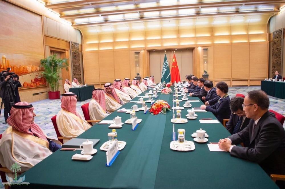 Наследный принц и заместитель председателя Государственного совета КНР рассмотрели саудийско-китайские отношения и возможности их развития