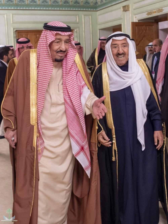 Служитель Двух Святынь принял эмира Кувейта, правителя Фуджайры, вице-премьер-министра Омана , премьер-министра Туниса