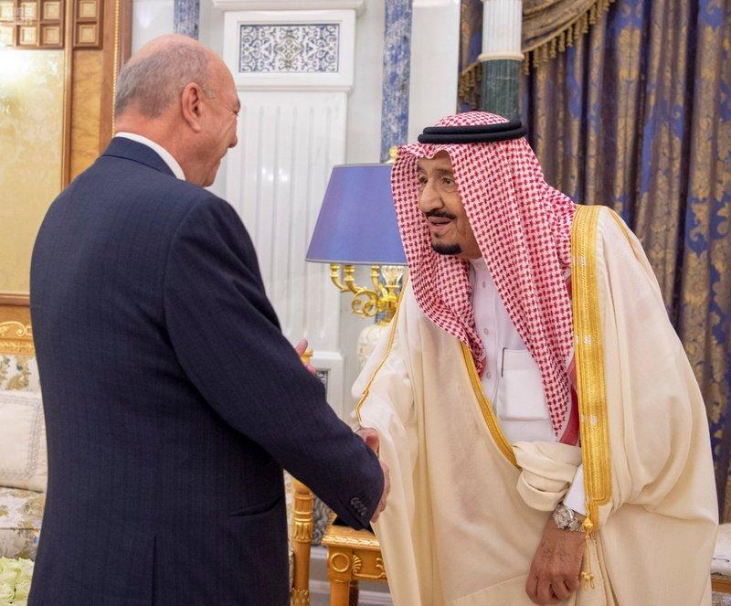 Служитель Двух Святынь получил послание от Короля Иордании