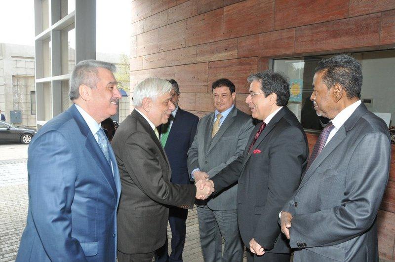 Президент Греции дал высокую оценку выставке «Торговые маршруты и достопримечательности Саудии сквозь века» в Афинах