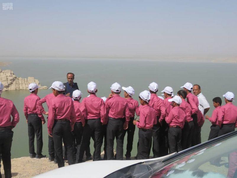 Центр гуманитарной помощи им.Короля Салмана проводит экскурсию по историческим местам для 27 детей, проходящих реабилитацию