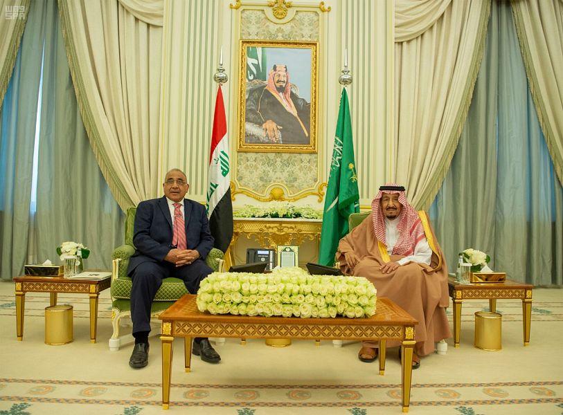Служитель Двух Святынь и премьер-министр Ирака провели двусторонние переговоры