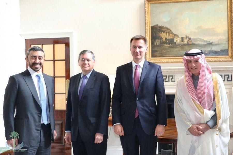 аль-Джубейр участвует в четырёхсторонней встрече по Йемену