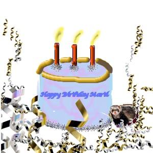 Happy Birthday MartiP