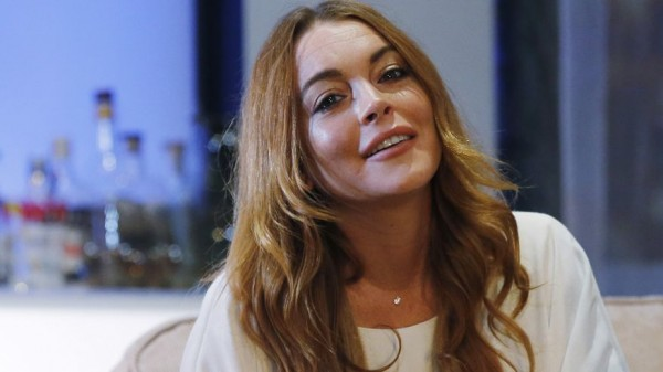 lindsay lohan in london reuters