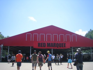 the red marquee
