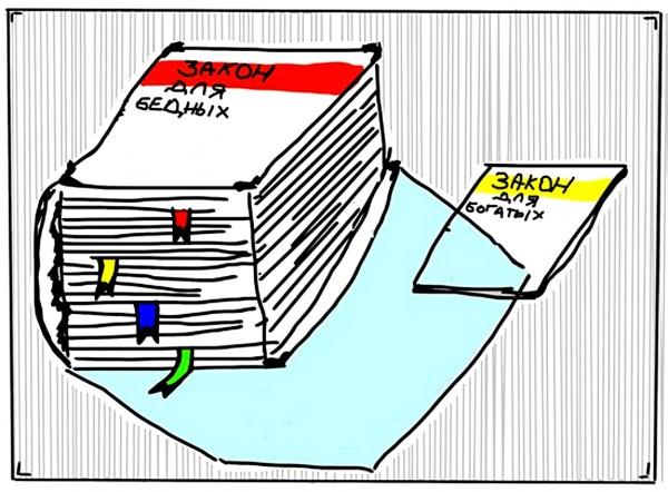 карикатура_закон_для_богатых