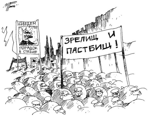 карикатура_зрелищ_пастбищ_бараны