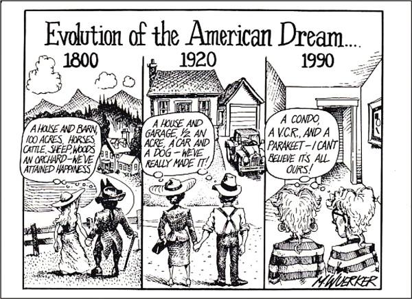 карикатура_американская_мечта