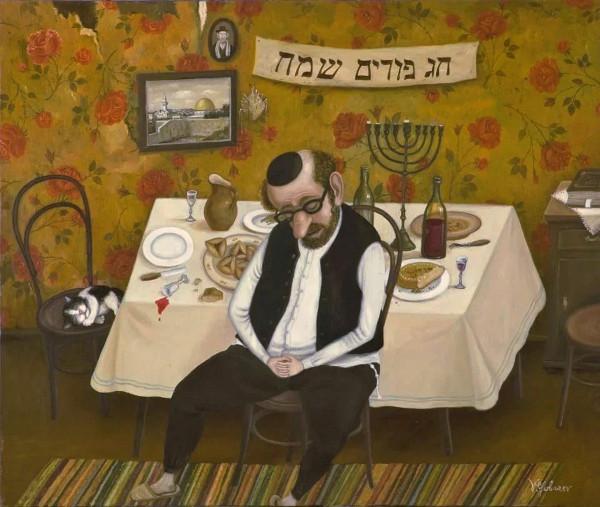 картина_губарев_еврей