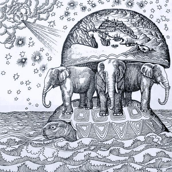картинка_черепаха_три_слона