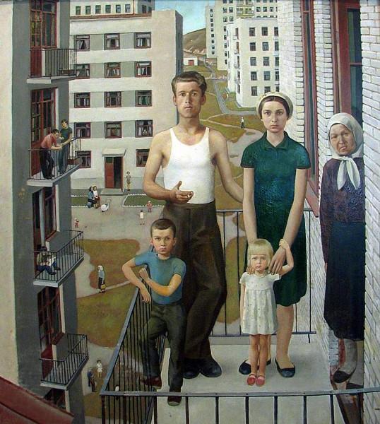 картина_семья_на_балконе