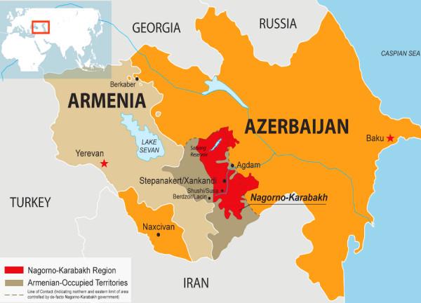 карта_армения_азербайджан