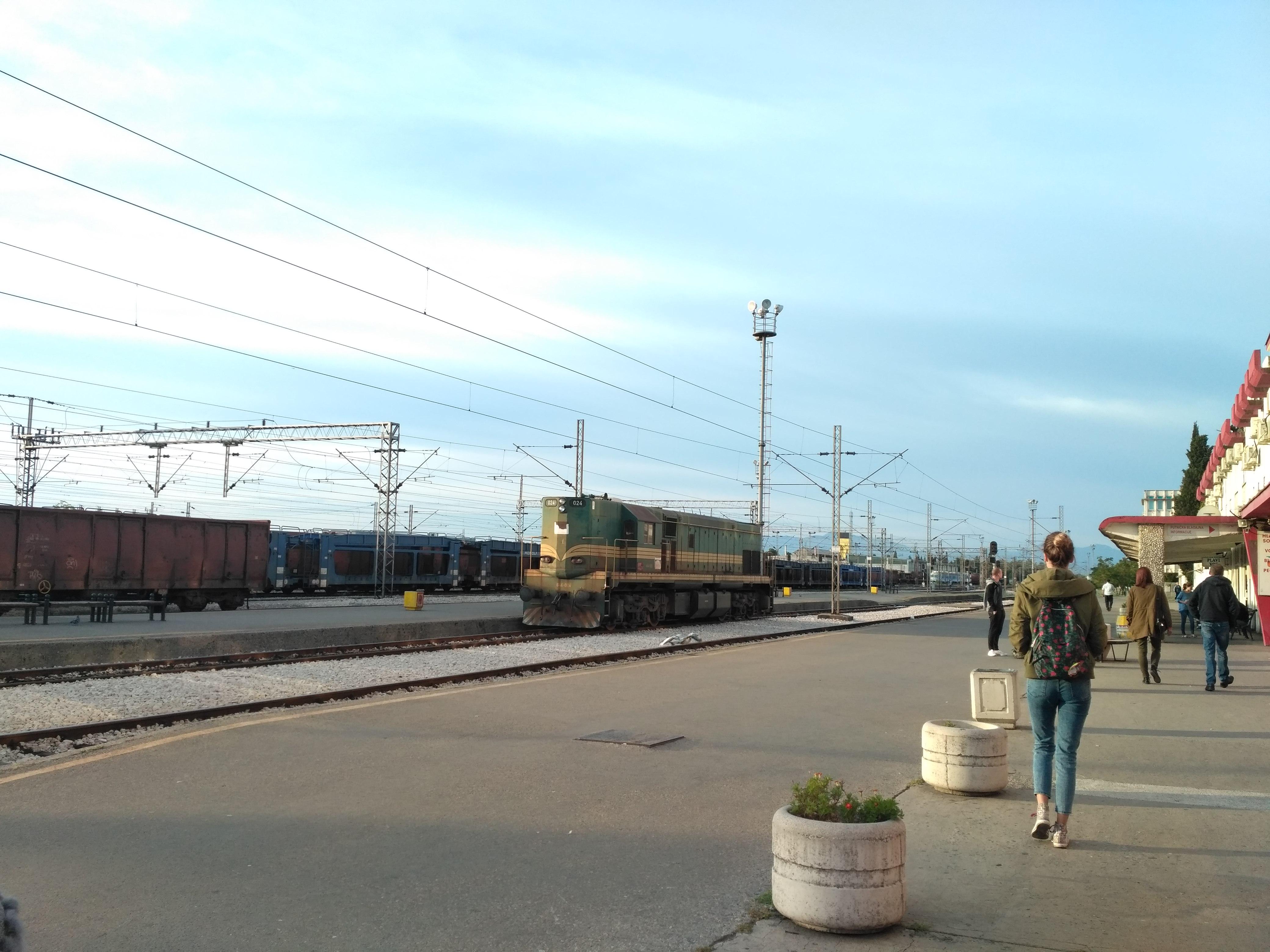 Вокзал Подгорицы