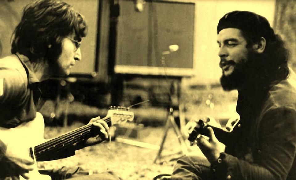 13 che-guevara-and-john-lennon