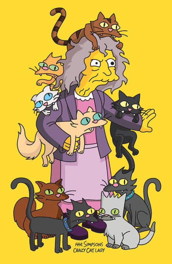Одинокие женщины и кошки