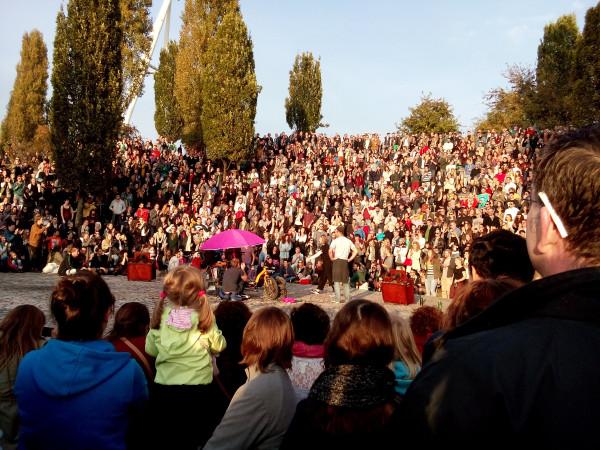 /караоке-шоу для всех желающий в Mauerpark/