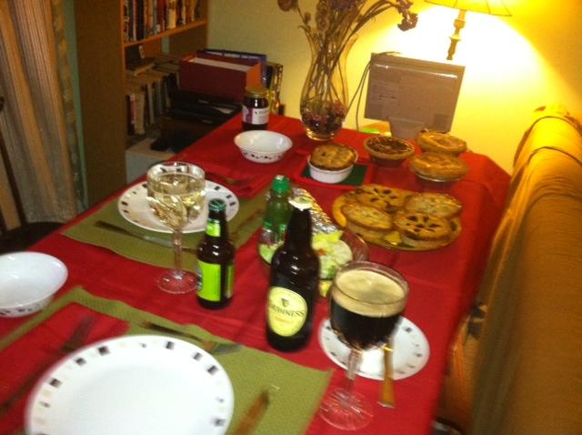 Thanksgiving, or Piepocalypse, 2012
