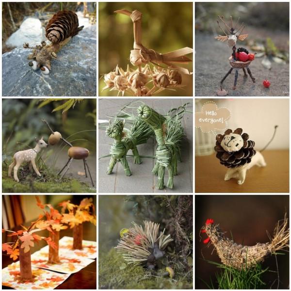 Осенние поделки в садике Developerov. org