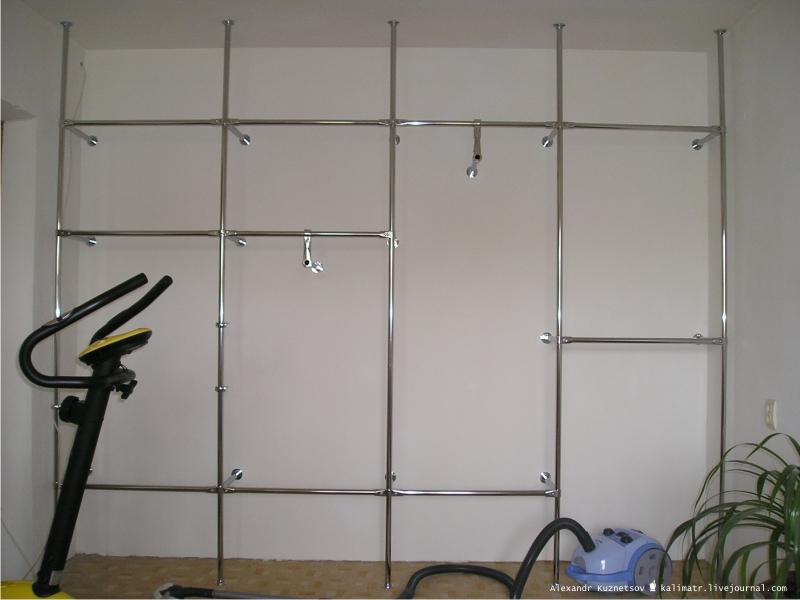 Встроенный шкаф своими руками с пошаговым фото