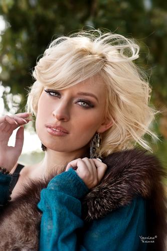 фотографии красивых украинских девушек блондинок