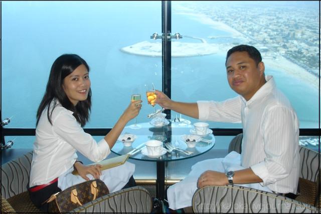 Burj Al Arab Afternoon Tea