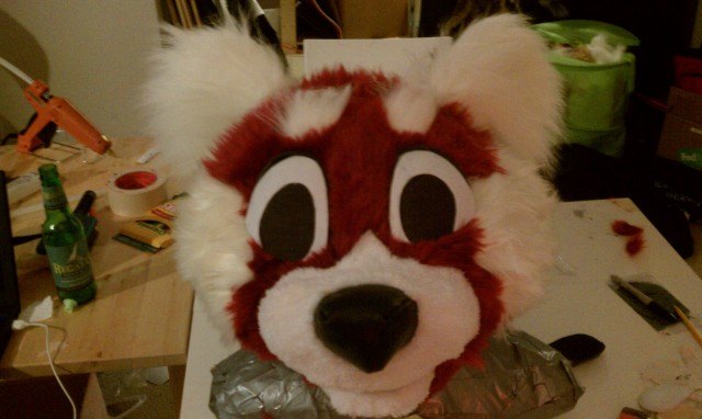 Almost Done With My First Head Red Panda How Do You