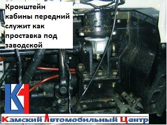 Кронштейн кабины передний служит как проставка под заводской.jpg