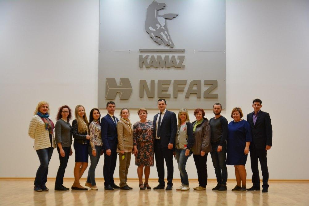 Профактив «КАМАЗа» посетил ПАО «НЕФАЗ»