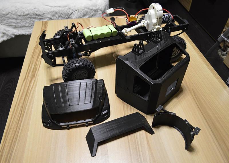 Житель Москвы распечатал на 3D-принтере модель капотного КАМАЗа