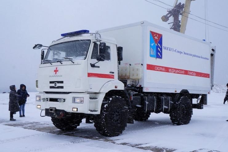 Дальний Восток получит ещё несколько КАМАЗов скорой помощи