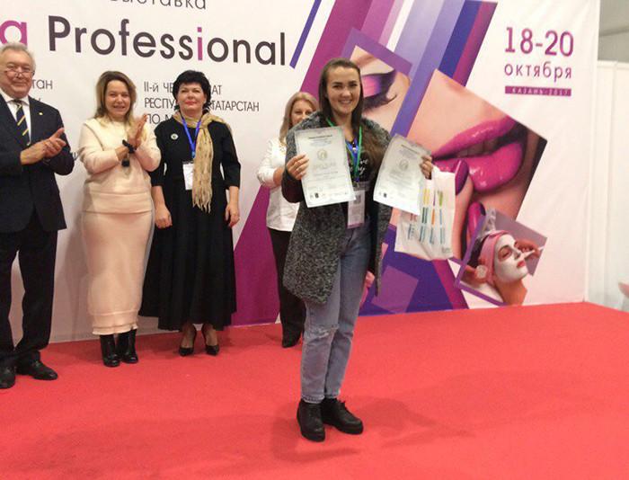 Работа Чемпиона Татарстана по моделированию ногтей