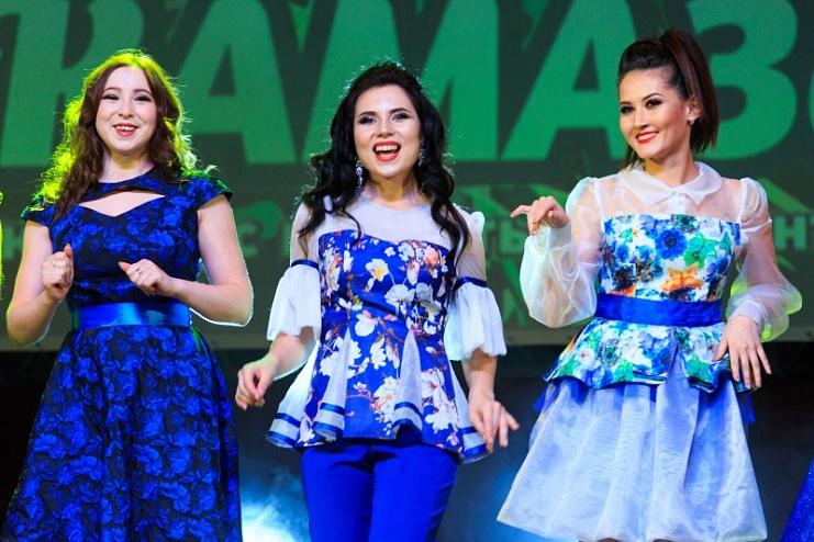 Финалистки конкурса «Мисс КАМАЗа»