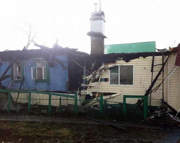 В селе Калмаш хозяин дома устроил взрыв, избавляясь от мышей