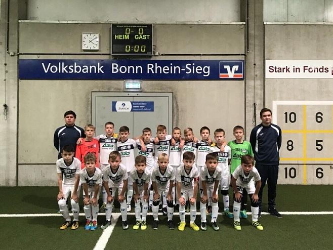 Юные челнинские футболисты разгромили сверстников из Германии