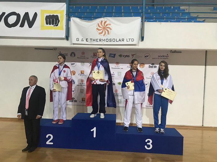 Челнинка стала бронзовым призёром Первенства Европы по тхэквондо