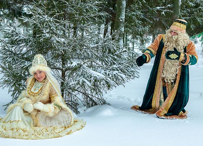 Кыш Бабай - второй по популярности Дед Мороз в России