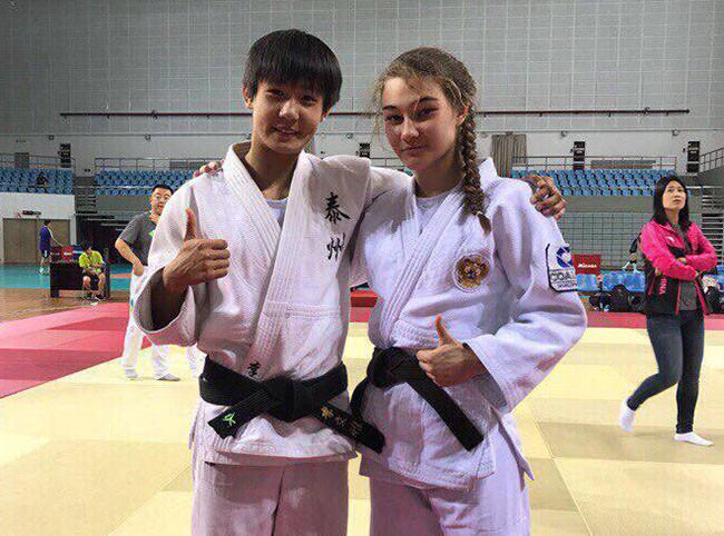 На Российско-Китайских молодежных играх челнинка завоевала «золото» по дзюдо