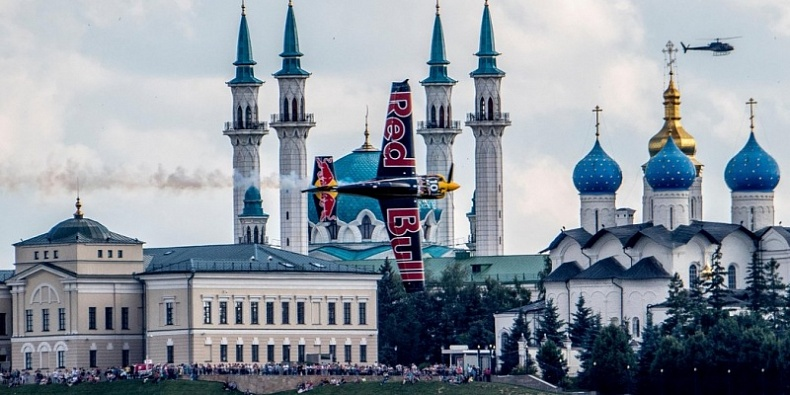 Казань в очередной раз примет участников Red Bull Air Race