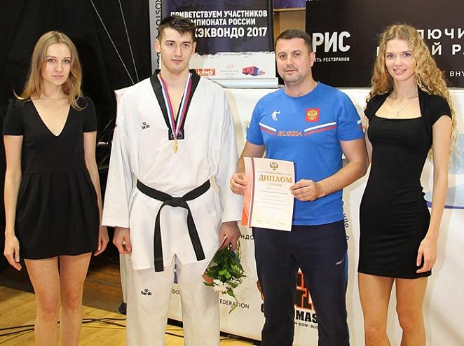 Челнинец Рафаэль Камалов стал чемпионом России по тхэквондо