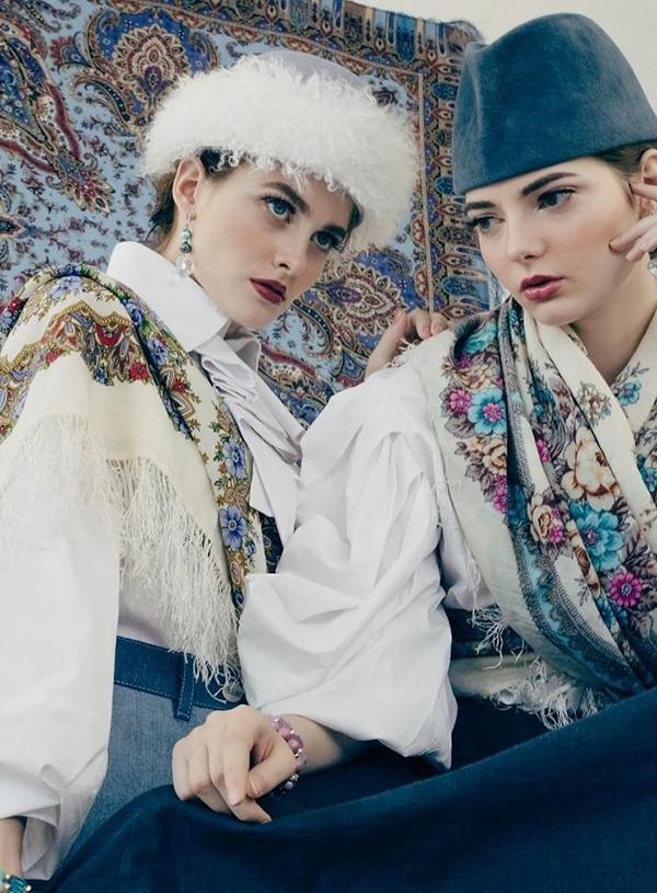 Наряды от челнинского модельера попали на страницы американского журнала