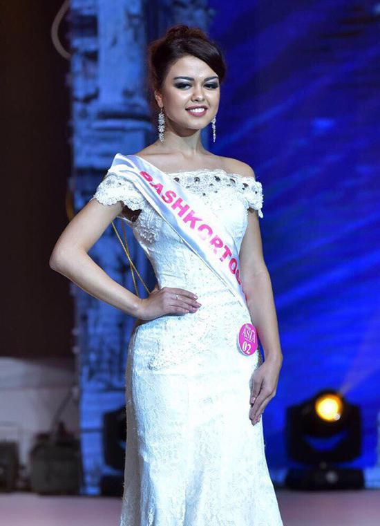Челнинка завоевала титул «Первой Вице-мисс АЗИЯ-2017»