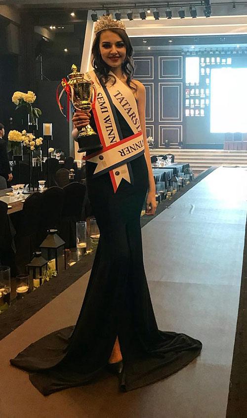 Челнинская красавица стала второй на «Miss Asia Awards 2017»