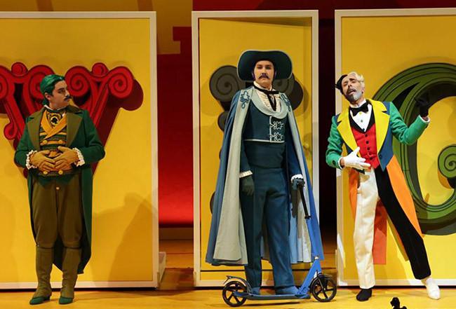 Итальянские дети в восторге от челнинского оперного певца