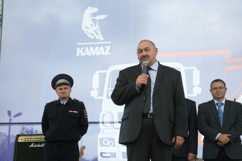 Конкурс профессионального мастерства водителей «КУБОК КАМАЗА»