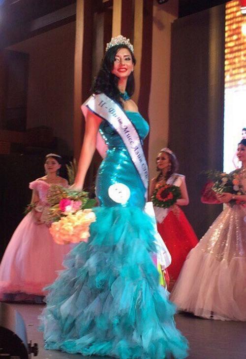 Представительница Татарстана стала Второй вице-мисс конкурса «Мисс Азия Санкт-Петербург 2017»
