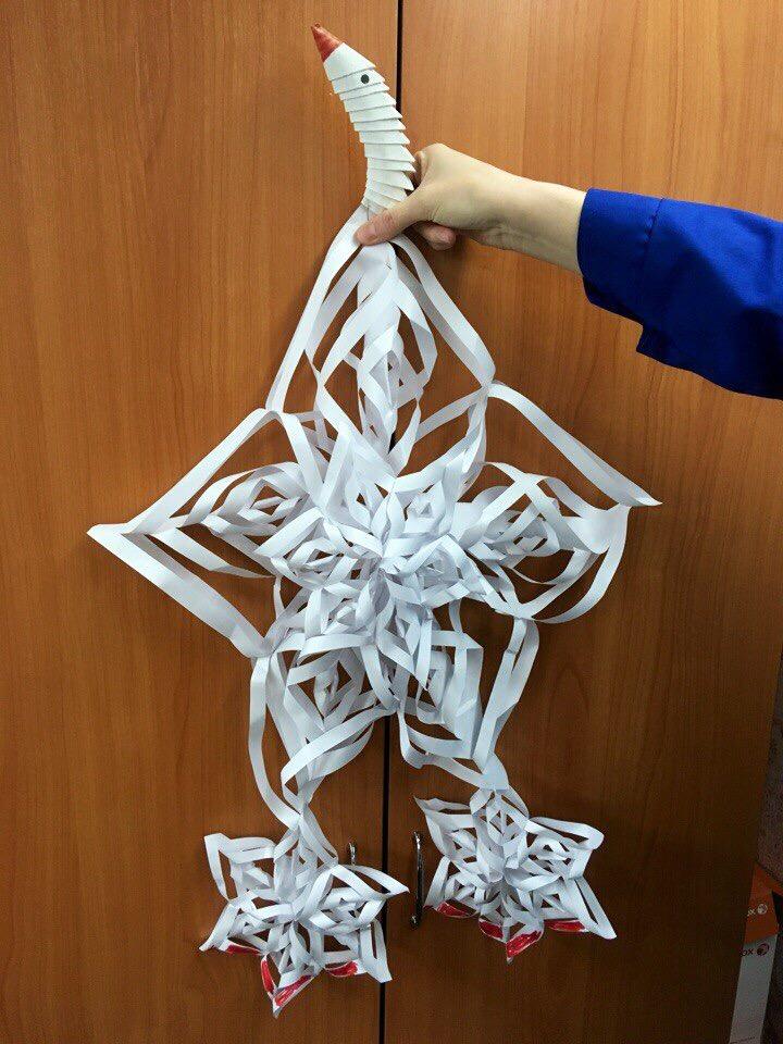 Удивительные снежинки от сотрудниц «КАМАЗа»