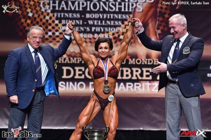 Спортсменка из Татарстана стала абсолютной чемпионкой мира по бодибилдингу
