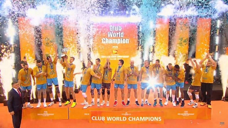 Казанские волейболисты стали чемпионами мира