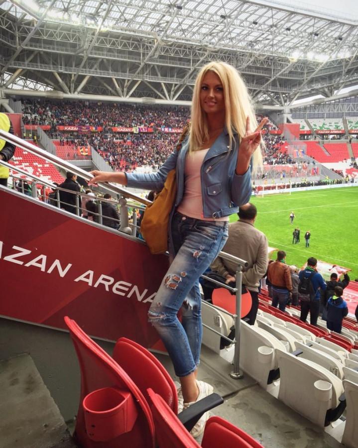 Жительница Татарстана вошла в тройку самых красивых болельщиц России